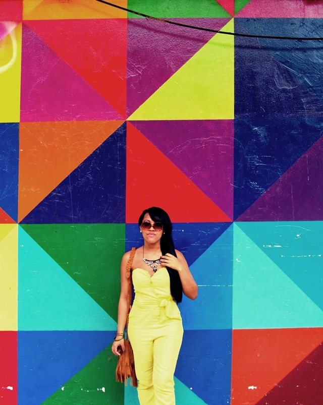 Look com macacão amarelo - Ágata de Souza 2