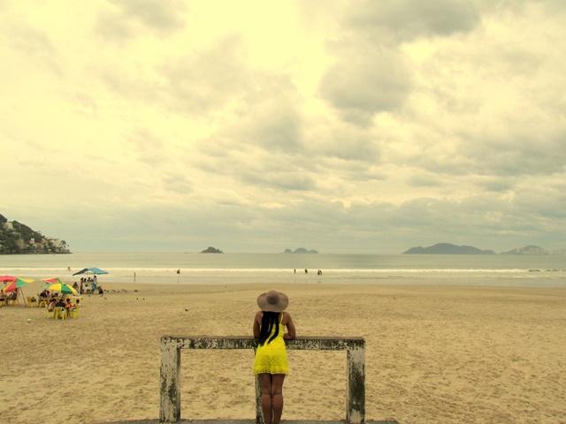 Ágata de Souza - Fim de semana praia Guaruja