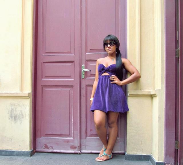 Ágata de Souza - customização de vestido como fazer