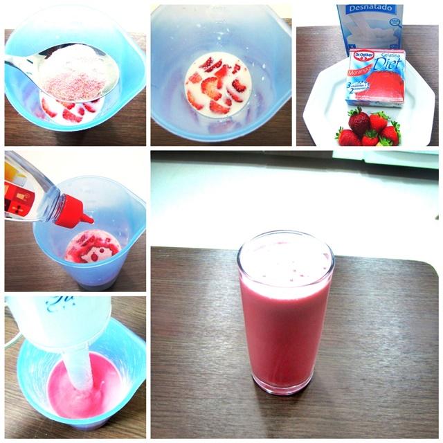 receita de shake anti fome