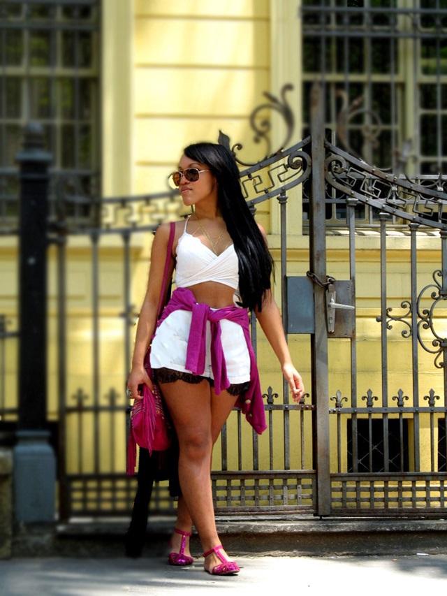 Look verão 20015 short e cropped - Agata de Souza 2