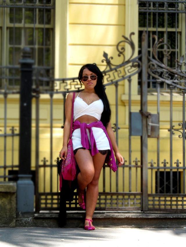 Look verão 20015 short e cropped - Agata de Souza