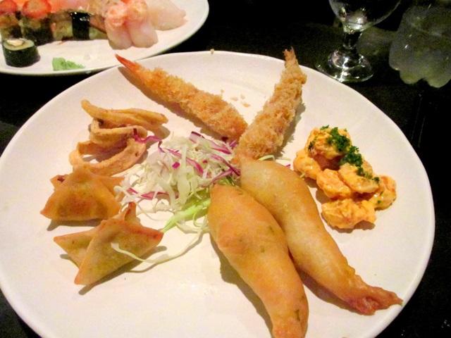Rodizio com camarão restaurante aoyama